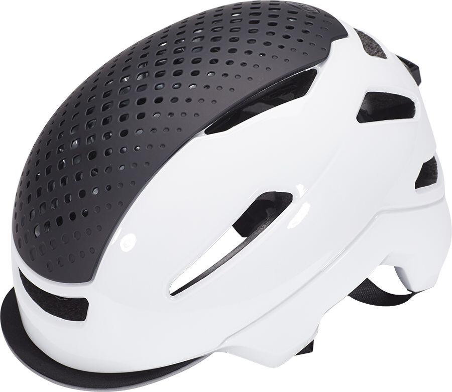 Bell Hub Cykelhjälm vit - till fenomenalt pris på Bikester 57ba0ba5b5f2d